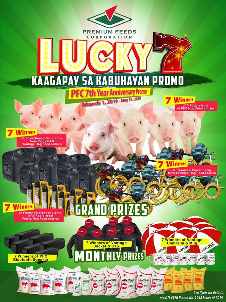 Premium Feeds Lucky 7 Promo Winners