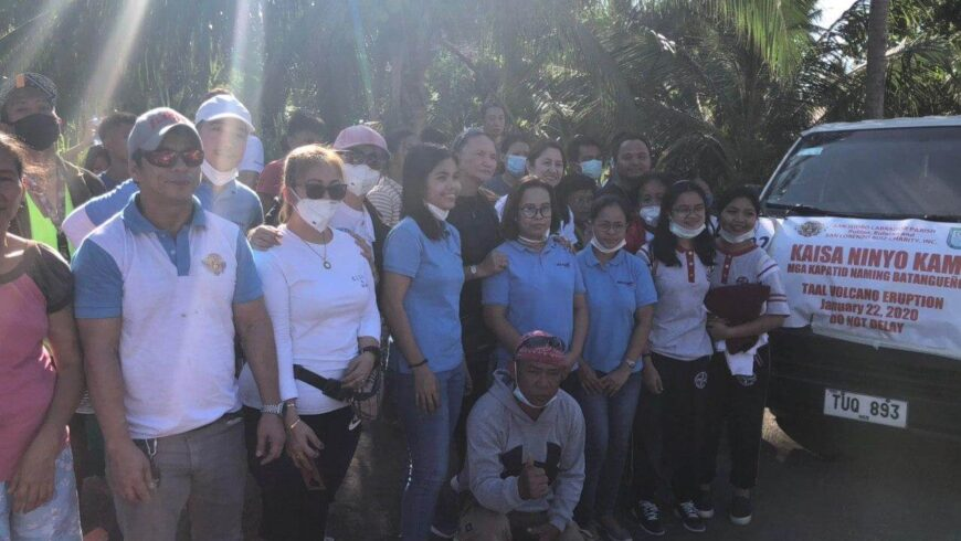 Taal Relief Operation – 2020